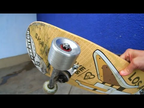 ALUMINUM SKATEBOARD WHEELS | YOU MAKE IT WE SKATE IT EP 3