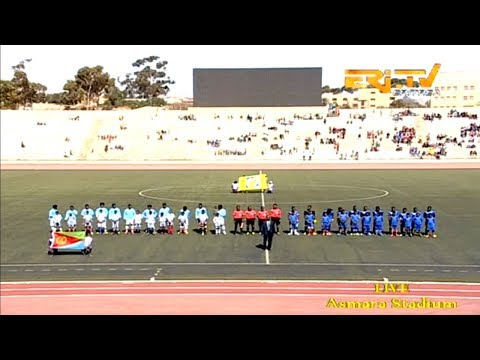 ERi-TV Sports: Eritrea Vs Tanzania U20 Soccer Friendly Game In Asmara Stadium, MArch 31, 2019