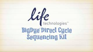 BigDye Direct Cycle Sequencing Kit
