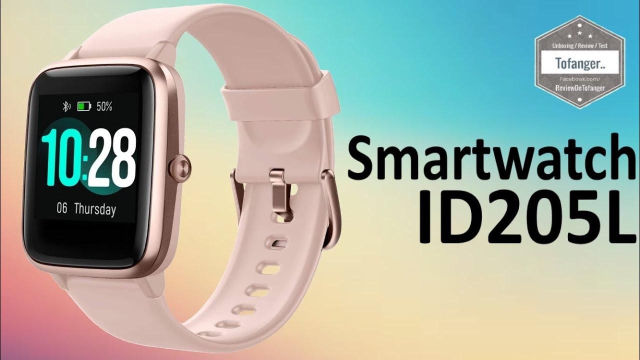 Id205l Smartwatch H205l Fitpolo 205l Montre Connectée Ip68 Veryfit Pro Déballage Youtube