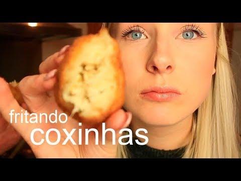 TENTANDO FRITAR COXINHAS NA HOLANDA