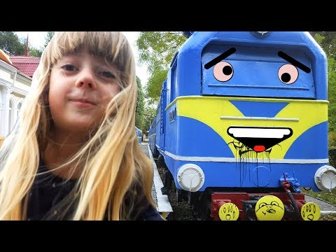 Funny Baby Amusement Park Family Fun Bob The Train Nursery Rhymes Songs for Kids Children Babies
