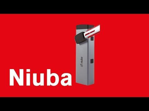V2 - NIUBA - Barrière levante à ouverture rapide (24V/230V)