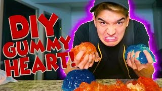 DIY GUMMY HALLOWEEN HEART!