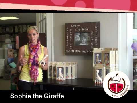 Snuggle Bugz - Sophie The Giraffe