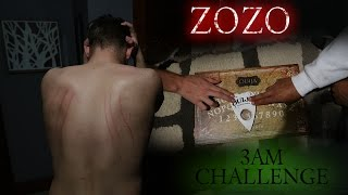 OUIJA BOARD 3AM CHALLENGE GONE TERRIBLY WRONG // ZOZO ATTACKS!!
