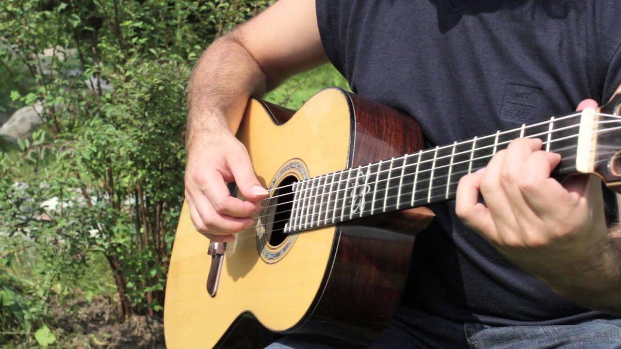 восточная музыка для шестиструнной гитары видео ноты