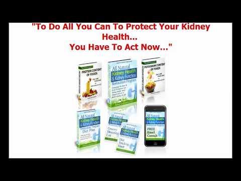 Natural Kidney Healing Program & Kidney Health