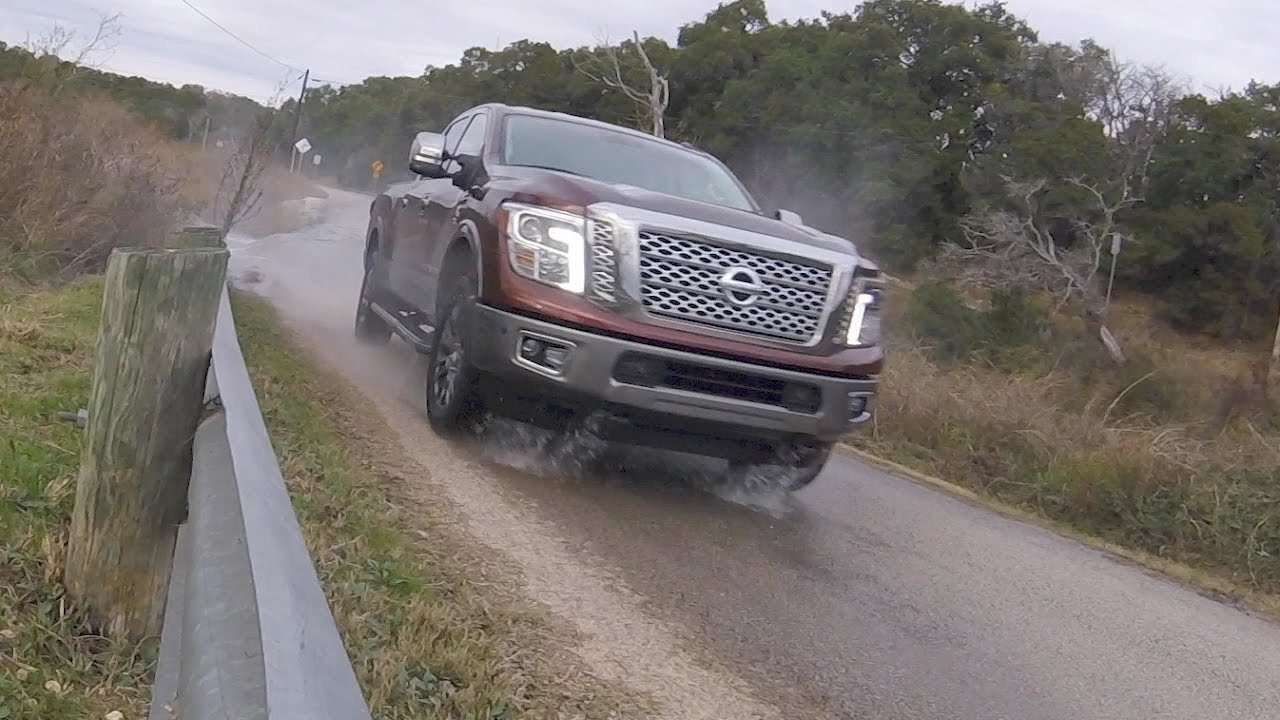 2017 nissan titan xd platinum reserve cummins diesel youtube. Black Bedroom Furniture Sets. Home Design Ideas