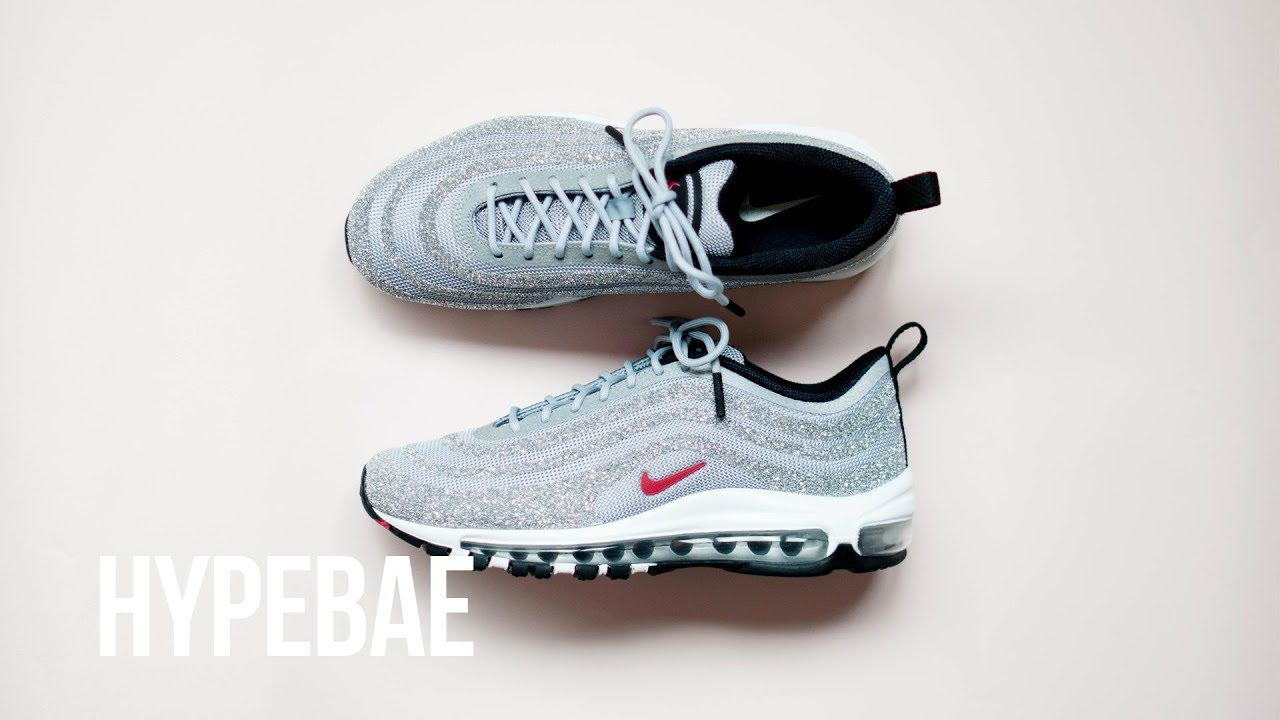 detailed look 8de4c d2737 Nike Swarovski Crystal Air Max 97 LX