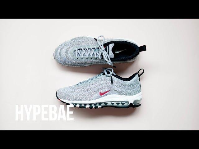 Swarovski Covered Nike Air Max 97 LX Editorial HYPEBAE