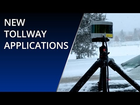 New Tollway Applications with the long-range 3D LiDAR from Velodyne