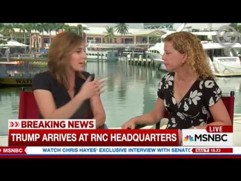 MSNBC's Jackson Allows Wasserman Schultz to Lie About 2000 Election Results