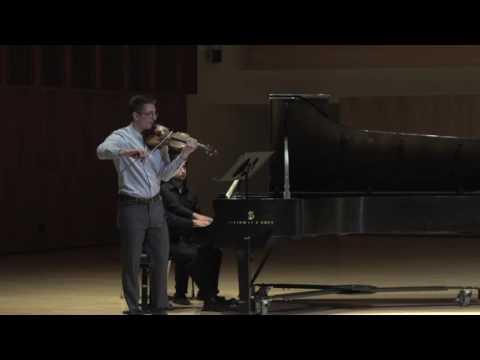 Michael Petit: Ives - Violin and Piano Sonata No. 4,
