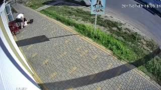 Мой город: В Первомайске парень посреди улицы ударил женщину