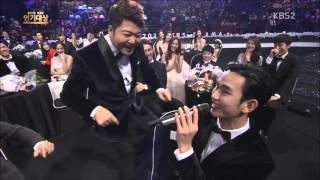 20151231 KBS 연기대상 김수현 요들송