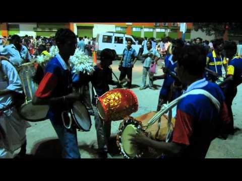 BENGALI FOLK PERCUSSION Playing 1 - DHAK, DHOL and CHORBORI
