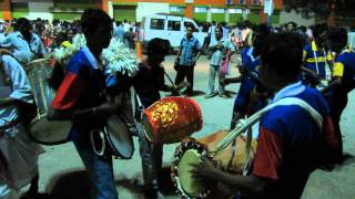 BENGALI FOLK PERCUSSION Playing 1 - DHAK, DHOL and CHORBORI