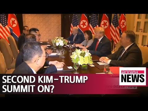 Trump's remarks on second summit with Kim signal revival of denuclearization talks