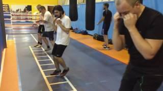 Бокс Лесенка Гелиос  Boxing training