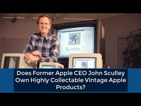 Does Former Apple CEO John Sculley Own Vintage Apple Products?