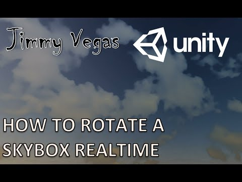 Mini Unity Tutorial - How To Rotate The Skybox In Realtime