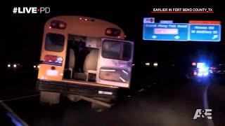 15-Year-Old Leads Cops on High Speed Chase Driving Church Bus