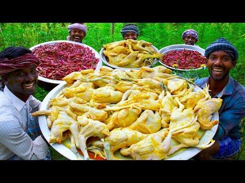CHICKEN Chinthamani | TamilNadu Traditional Chinthamani Chicken Recipe Cooking In Village