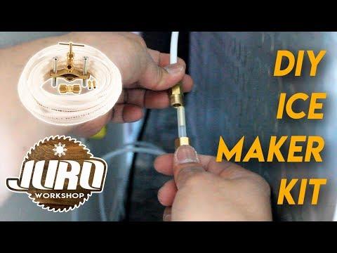 DIY Installation Kit Aqua-Dynamic Ice Maker Samsung 23 Cu Ft Refrigerator | JURO Workshop
