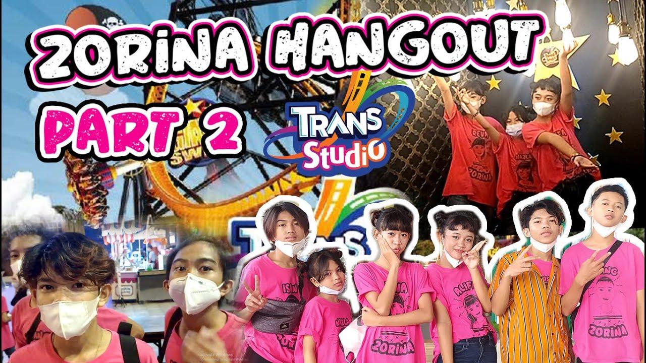 VLOG JALAN JALAN ZORINA TRANS STUDIO BANDUNG PART 2