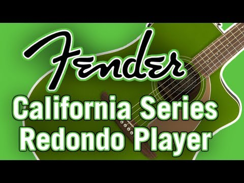 Fender California Series Redondo Player Review & Demo