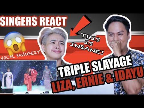 SINGERS REACT to Liza Hanim, Ernie Zakri & Idayu - Juara Dusta, Kepuraanmu, Sumpah   ABPBH32