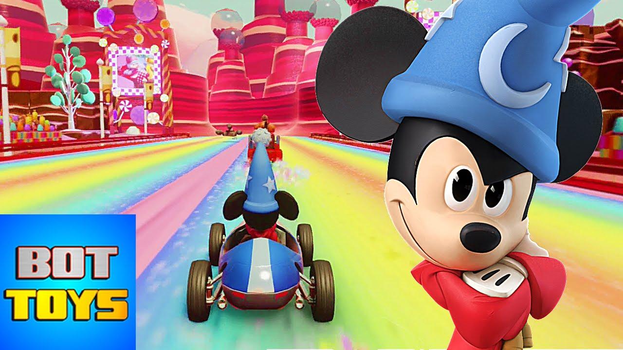 Caricaturas De Disney En Español Latino La Carrera De Mickey Mouse