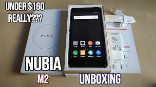 Nubia M2 Unboxing - Flagship features on a $160 budget phone!