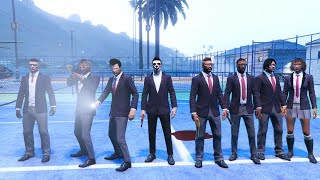 ? Party Games & Piggy Hunt With The Crew - GTA 5