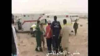 لقطات مصورة من حادث السمحة صباح اليوم - برق الامارات