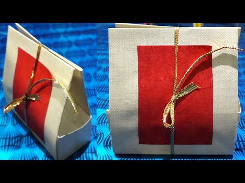 DIY Gifts ideas/ how to make gift box with paper/ handmade origami box/ N K Sharma crafts