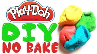 How to Make Play Doh Recipe BEST RECIPE EVER!!! No Bake Easy Edible  Toy Caboodle