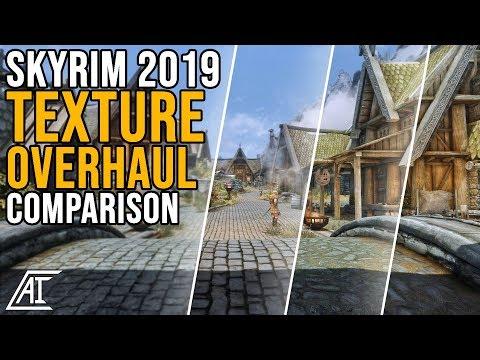 SSE 2019 Texture Overhaul Mods Comparison | Noble Skyrim, Skyrim 2017, Osmodius, Skyland