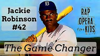 Jackie Robinson for Kids Song, Black History Songs for Kids - Rap Opera for Kids and the Math Animal