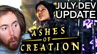 Asmongold Reacts to Ashes of Creation July DEV UPDATE   Recap By KiraTV (NEW MMORPG 2021)