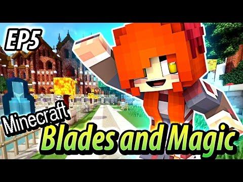 Blade Academy - Minecraft Blades and Magic EP5 - Minecraft Roleplay
