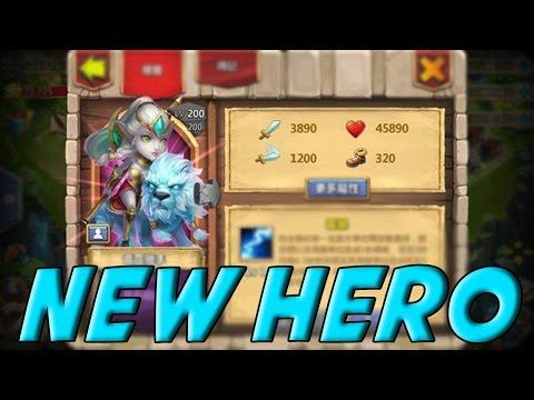 Castle Clash Lady Leo (Cool New Hero)