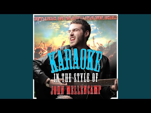 Authority Song (In the Style of John Mellencamp) (Karaoke Version)