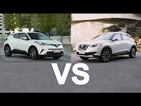 2016 Nissan Juke >> 2017 Toyota C HR Vs 2017 Nissan Kicks - YouTube