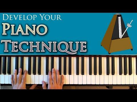 Developing Piano Technique (A Video Lesson)