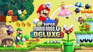 NEW SUPER MARIO U (DELUXE) - Old school no mais novo jogo do Bigode.