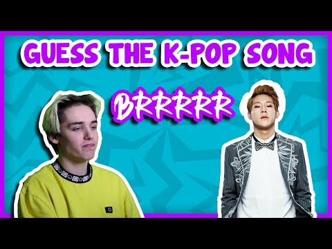 GUESS THE K-POP SONG [BY THE BRRRAH]