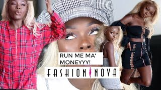 FASHION NOVA ISSA SCAM??! Let's Try On | Shalom Blac Mp3