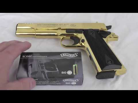 Unboxing a UMAREX Colt Government 1911 A1 Gold